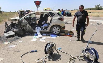 El verano cierra con 33 personas muertas en el asfalto en Castilla y León, tres menos que el pasado año