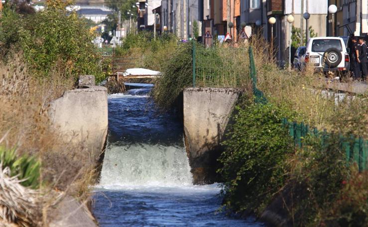 Aparece el cadáver de una persona en el Canal Bajo del Bierzo en Cuatrovientos
