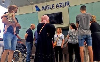 El cierre de Aigle Azur deja a miles de pasajeros en tierra