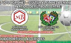 Aperitivo del Logroñés-Cultural entre sus aficiones 'emigradas' a Madrid