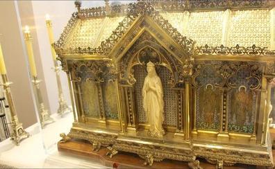 León recibe las reliquias de Santa Bernardita, la 'vidente de Lourdes'