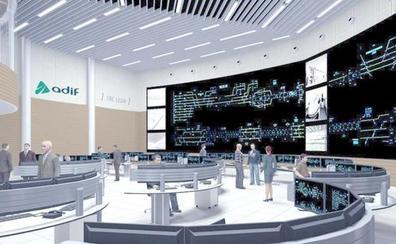 Adif licita en 685.080 euros el suministro, instalación y mantenimiento del 'videowall' de control de León