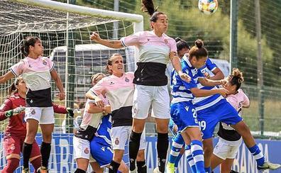 La leonesa Cristina Martínez debuta en Liga Iberdrola con victoria