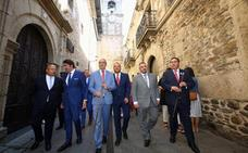 Quiñones compromete más de 6 millones en esta legislatura para el proyecto de depuración y abastecimiento de Las Médulas