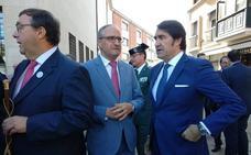 Quiñones asegura que las obras de la red de calor de Ponferrada «están a punto de concluir» con una instalación levantada ya al 80%