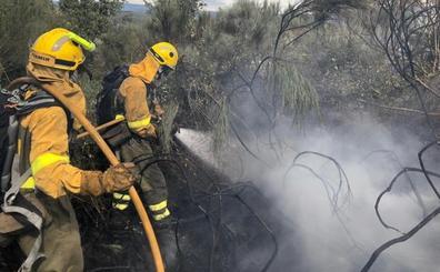 La provincia de León registra dos incendios activos en Soto y Amío y Torre del Bierzo