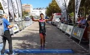 Nueva victoria de Viñuela, esta vez en el Triatlón de Santander