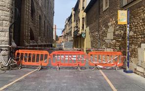 UPL pide que se finalicen las obras de la calle Pablo Flórez para evitar «perjuicios» en el acceso a los colegios