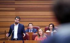 Pleno en las Cortes de Castilla y León