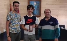 Pablo Villa, reconocido en La Bañeza: «Estoy orgulloso de ser de aquí»
