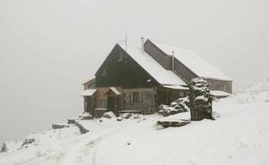 Nieve en pleno verano