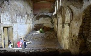 La Junta dedica 27.000 euros a retirar escombros y recuperar pavimentos en el Monasterio de Sandoval