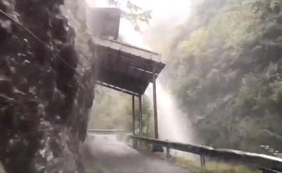 Diluvio en Los Beyos