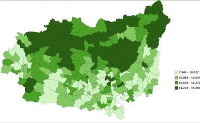 Maraña, el municipio más rico de la provincia de León; Lucillo, el más pobre