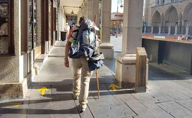 Cs pide acelerar la implantación de la nueva señalética del Camino de Santiago a su paso por León
