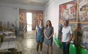 Santa María del Páramo solicita a Diputación acabar el arreglo del Colegio Infantil Benito León