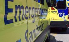 Una conductora resulta herida tras el vuelco de su turismo en una colisión múltiple en Ponferrada