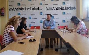 San Andrés se reúne con las directoras de los centros educativos para abordar sus demandas