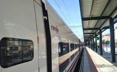 Los pasajeros de un Alvia con destino Gijón, una hora parados en León