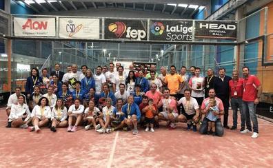 El Club de Tenis Chamartín y el equipo del R.E.P, vencedores del Campeonato de España de Padel de Veteranos