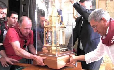 Las reliquias de Santa Bernardita visitan la próxima semana Ponferrada
