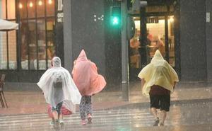 Activada la alerta amarilla por lluvias y tormentas este martes en toda la provincia de León