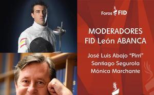 Mónica Marchante, Santiago Segurola y 'Pirri', moderadores del FID León Abanca 2019