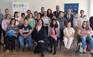 BBVA y Down Castilla y León presentan en León una nueva edición de 'Empleo con Apoyo'