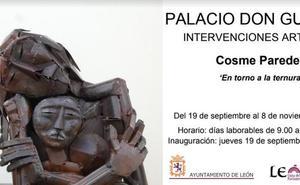 El Palacio Don Gutierre acoge la muestra de Cosme Paredes