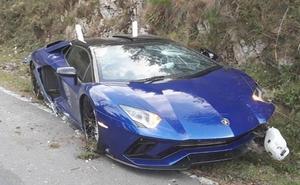 Una carrera entre Lamborghini acaba en accidente en el Fitu