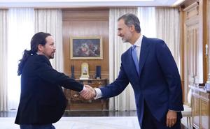 El Rey retoma la ronda de contactos con los representantes de los partidos políticos