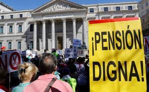El bloqueo aboca a jubilados, funcionarios y parados a la congelación salarial