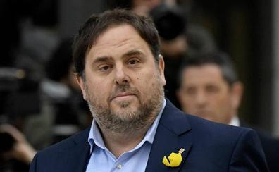 El Parlament concede una prestación de 13.000 euros a Oriol Junqueras