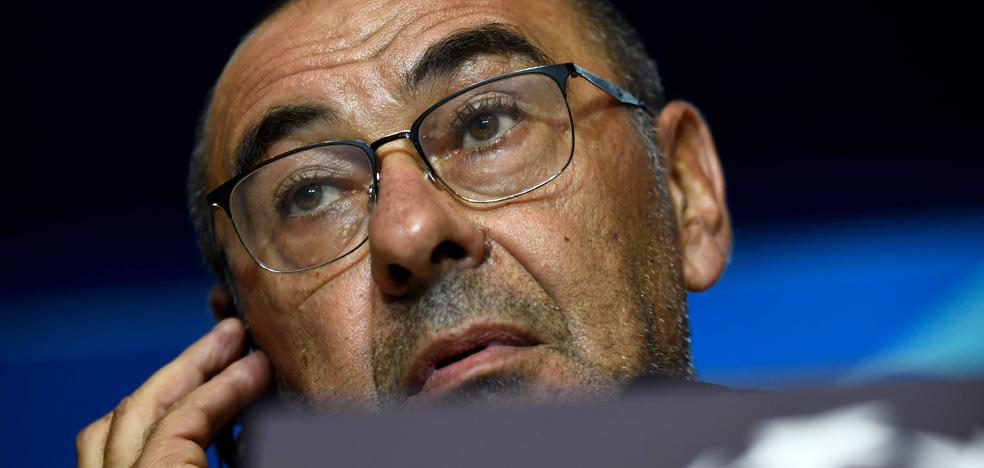 Sarri: «En la Champions hace falta no solo fuerza táctica y técnica, también suerte»