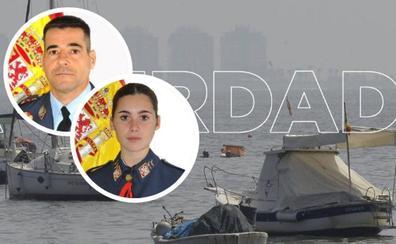 Mueren un instructor y su alumna al estrellarse una avioneta del Ejército del Aire en el Mar Menor