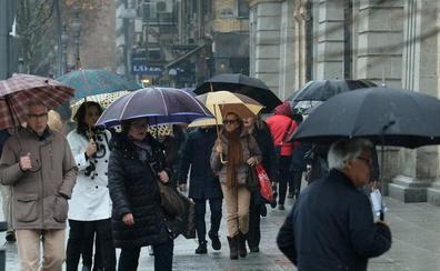 La Aemet mantiene la alerta amarilla por lluvias en Burgos, León y Palencia