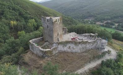 Concluyen las obras de consolidación de la torre del Castillo de Balboa tras una inversión de 50.000 euros