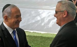 Gantz quiere liderar el gobierno de Israel