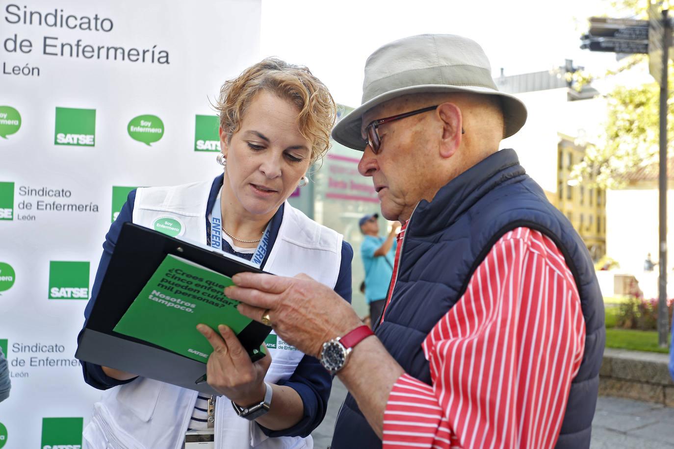 Recogida de firmas por una ley que estableza una tope de pacientes por enfermera