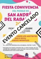 Suspendida la Fiesta de la Convivencia de San Andrés