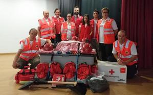 Cruz Roja Española en Villablino presenta su Equipo de Respuesta Básica en Emergencias