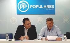 El grupo popular de la Diputación de León muestra su apoyo a los enfermos de Alzéhimer