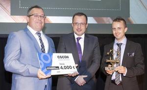 La firma leonesa Tecoi recibe el Premio Nacional de Ingeniería Industrial 2019 en la categoría de Emprendedor del Año