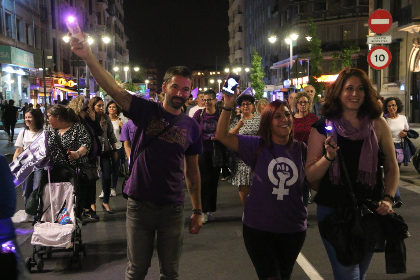 León sale a la calle ante la Emergencia Feminista por la violencia machista