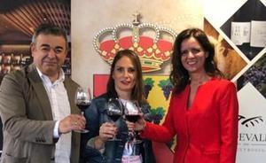 Ana Carlota Amigo apuesta por el sector vitivinícola como «impulso» para el medio rural de León
