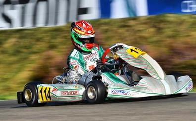 David Vidales, subcampeón mundial en karting KZ2