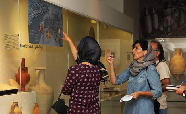 Irán «descubre» el Mediterráneo con una exposición arqueológica de Alicante