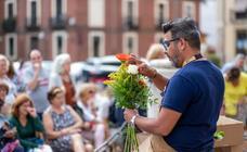 Final de la campeonato nacional Mejor Artesano Florista celebrado en León
