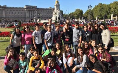 Los alumnos del Colegio Divina Pastora disfrutan de un mes de septiembre de inmersiones lingüísticas
