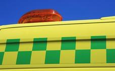 Un fallecido y dos heridos tras un accidente entre dos turismos y una furgoneta en Ponferrada